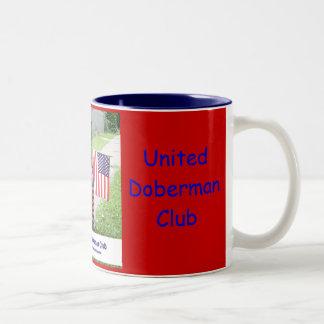 United Doberman Club Patriotic Mug