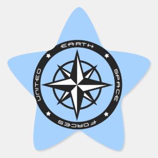 United Earth Star Sticker
