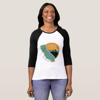 United for Progress - Womens Baseball Style T-Shirt