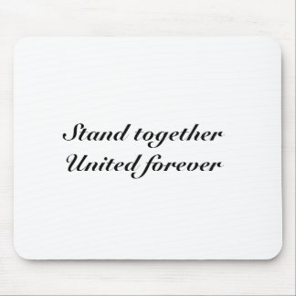 United forever mouse pads