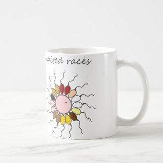 United human races _ funny genetics basic white mug