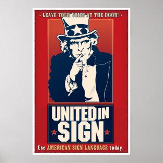 United in Sign (ASL)