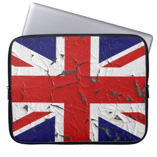 United Kindom Union Jack Flag Laptop Sleeve