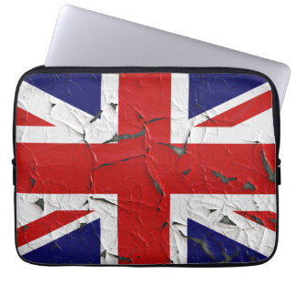 United Kindom Union Jack Flag Laptop Sleeve