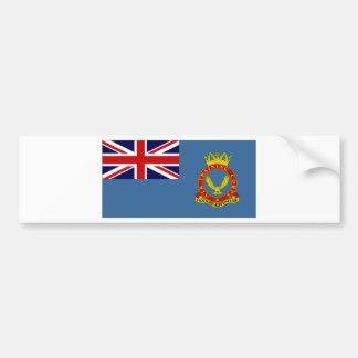 United Kingdom Air Training Corps Flag Car Bumper Sticker