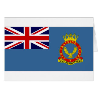 United Kingdom Air Training Corps Flag Card