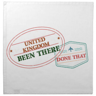 United Kingdom Been There Done That Napkin