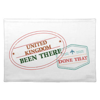 United Kingdom Been There Done That Placemat