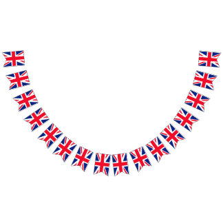 United Kingdom British Union Jack Bunting