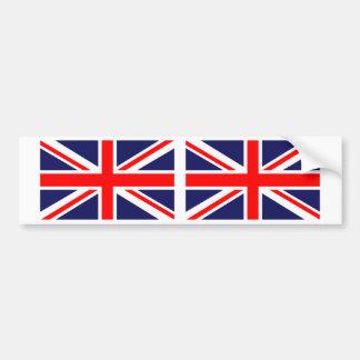 United Kingdom British Union Jack Flag Bumper Sticker
