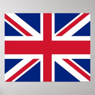 United Kingdom/British/Union Jack Flag Poster