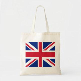 United Kingdom/British (Union Jack) Tote Budget Tote Bag