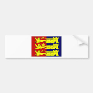 United Kingdom Cinque Ports Flag Bumper Sticker