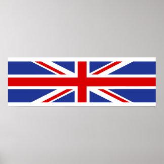 united kingdom country flag british nation symbol poster