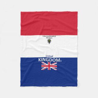 United Kingdom Designer Blanket