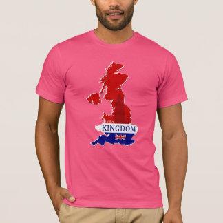United Kingdom Designer Name Brand Map Shirts