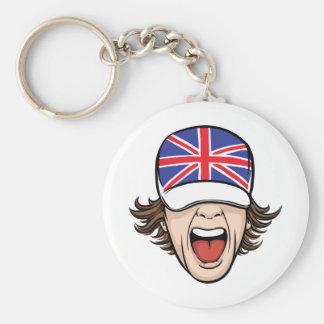 United Kingdom Fan Keychain