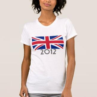 """United Kingdom Flag """"2012"""" T-Shirt"""