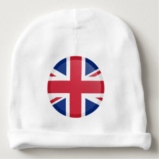 United Kingdom Flag Baby Beanie