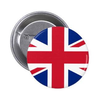United Kingdom Flag 6 Cm Round Badge