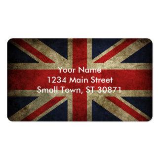 United Kingdom Flag Pack Of Standard Business Cards