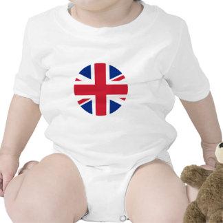 United Kingdom Flag Circle The MUSEUM Zazzle Baby Bodysuits