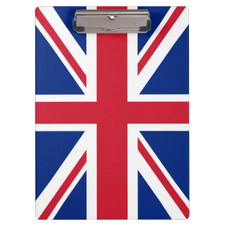 United Kingdom Flag Clipboard