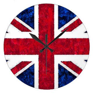 UNITED KINGDOM FLAG Clock