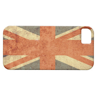 United Kingdom Flag - Grunge Barely There iPhone 5 Case