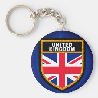 United Kingdom Flag Key Ring