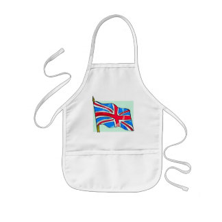 United Kingdom Flag Kids Apron