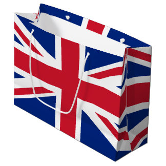 United Kingdom flag Large Gift Bag