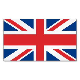 United Kingdom Flag Magnetic Business Cards