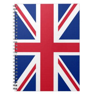 United Kingdom Flag Notebook