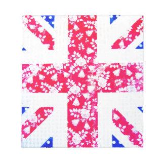 United Kingdom Flag Notepad