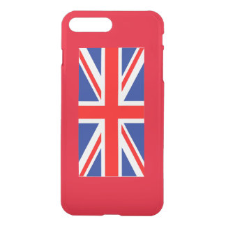 United Kingdom flag on iPhone 7 plus case