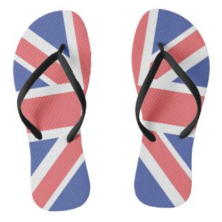 United Kingdom Flag Pair of-Flip Flops Thongs