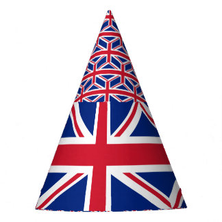 United Kingdom Flag Party Hat