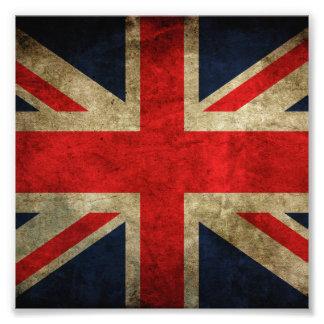 United Kingdom Flag Photographic Print