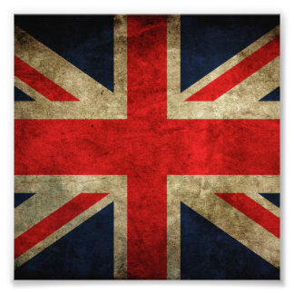 United Kingdom Flag Photographic Print
