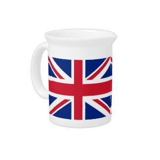 United Kingdom Flag Pitcher