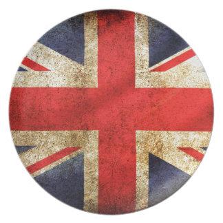 UNITED KINGDOM FLAG PLATES