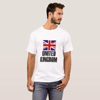 United Kingdom Flag Simple Bold T-Shirt
