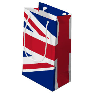 United Kingdom flag Small Gift Bag