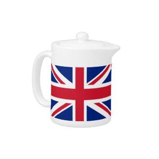 United Kingdom Flag Teapot