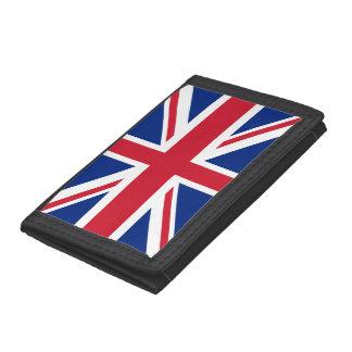 United Kingdom Flag Trifold Wallet