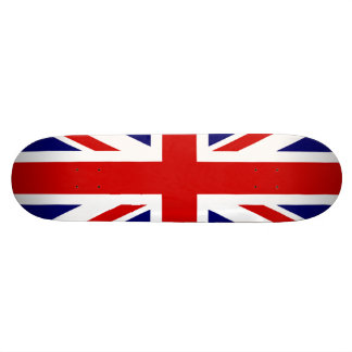 United Kingdom Flag / Union Jack 18.1 Cm Old School Skateboard Deck