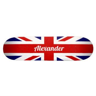 United Kingdom Flag / Union Jack | Personalised Custom Skate Board