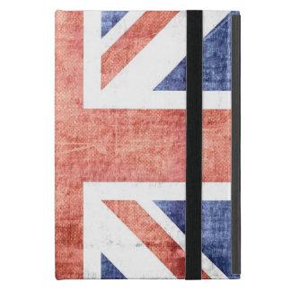 United Kingdom Flag Vintage 4 iPad Mini Covers