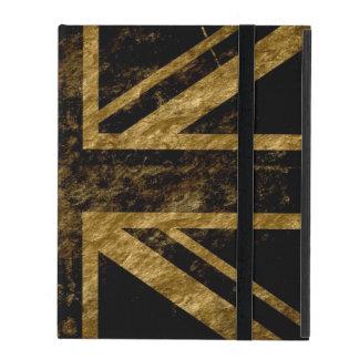 United Kingdom Flag Vintage 6 iPad Folio Case